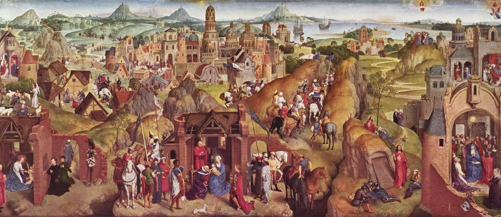 Hans Memling's Seven Joys of the Virgin