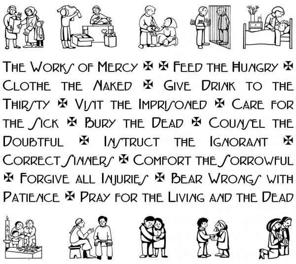 "February 29th: ""The works of mercy are innumerable."""
