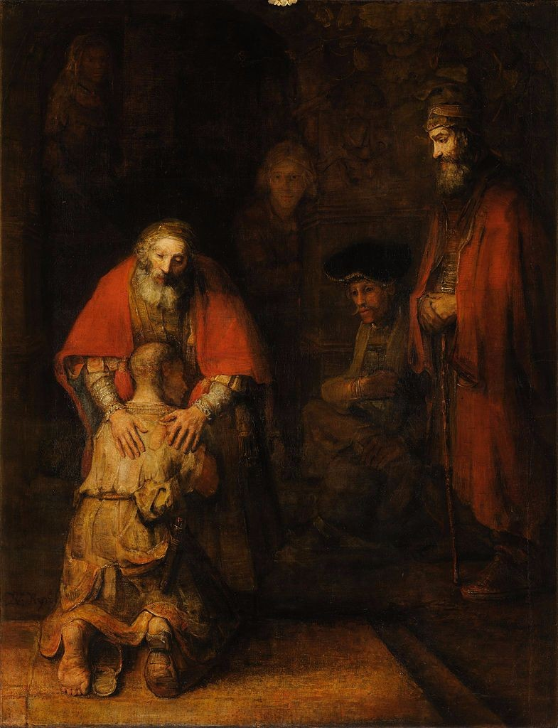 Rambrandt's Return of the Prodigal Son