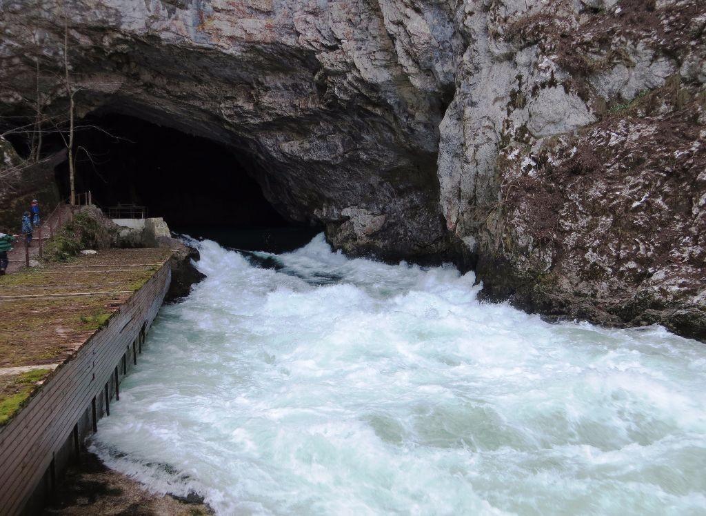 Planina_Cave_Slovenia_-_Unica_River
