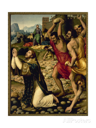 Stoning of St. Stephen by Juan se Juanes