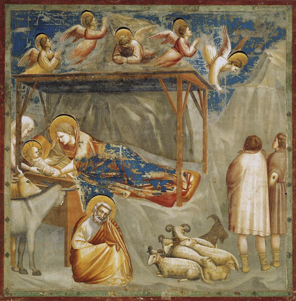 Nativity: Birth of Jesus by Giotto