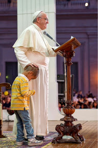 "January 25th - Pope Francis and the young lost boy: ""A smoldering wick he shall not quench."""