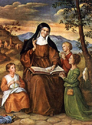Feast of St. Angela Merici January 27th