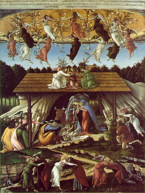 Botecelli's Mystical Nativity