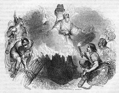 Polycarp burning
