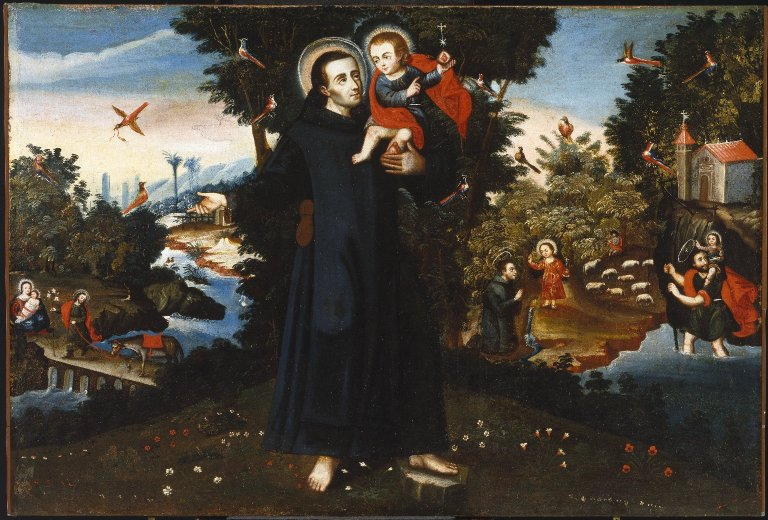 St. John of God - by Pedro Nolasco y Lara at the Brooklyn Museum (Feast Day March 8th)