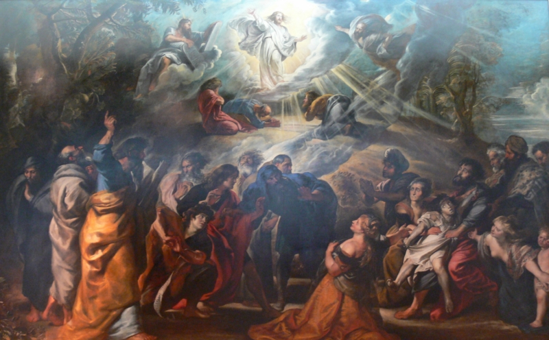 Transfiguration by Rubens