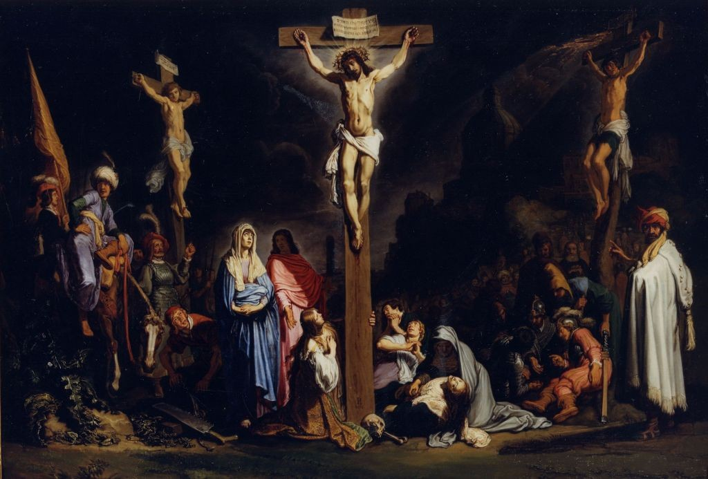 Pieter Lastman - The crucifixion, 1616