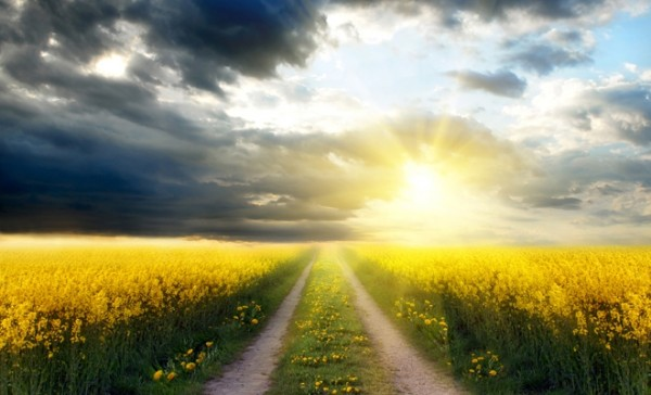 """March 18th: """"Go straight along the road to eternal life."""""""