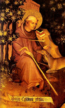 St. Giles of Assisi - Feast Day April 23rd