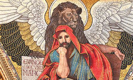 St. Mark the Evangelist (mosaic in St. Matthew's Cathedral in Washington, DC)