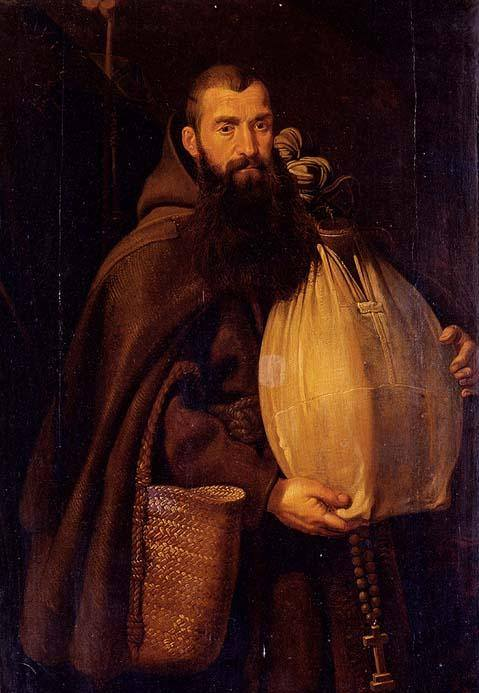 St. Felix of Cantalice by Peter Paul Rubens