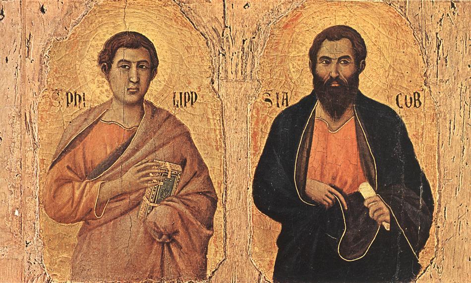 Duccio_ApostlesPhilipAndJames