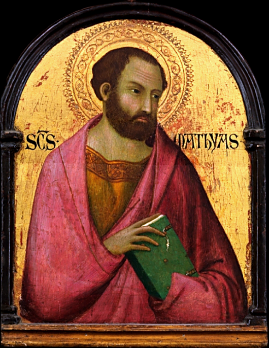 May 14th: Feast of St. Matthias, apostle