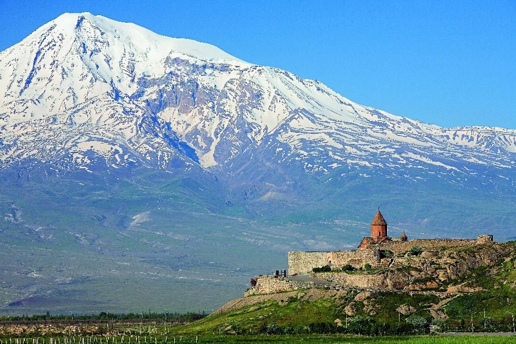 The Khor Virap (meaning deep pit) monastery is a 7th century Armenian monastery in the Ararat plain in Armenia, very close to the border with Turkey and the closest point in Armenia to Mount Ararat, the national symbol of Armenia.
