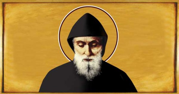 July 24th: Feast of St. Charbel - prayers for peace in the Middle East