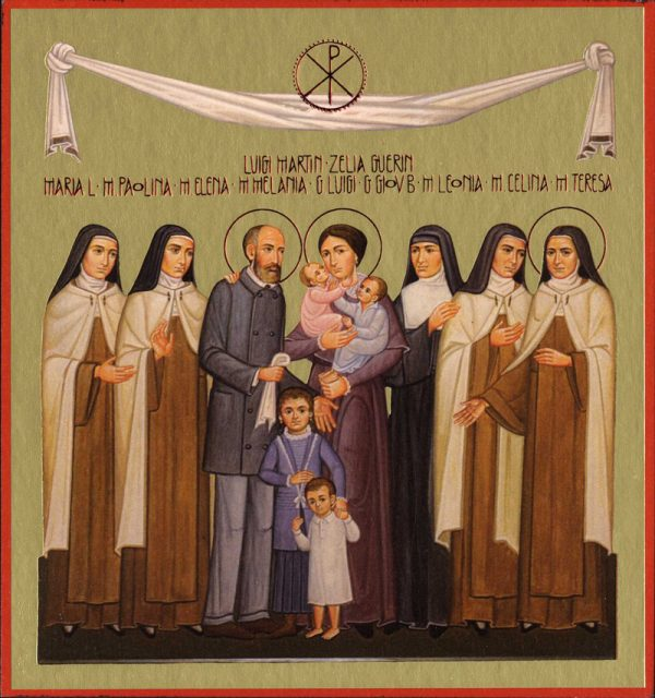 July 12th: Feast of Saints Louis and Zelie Martin