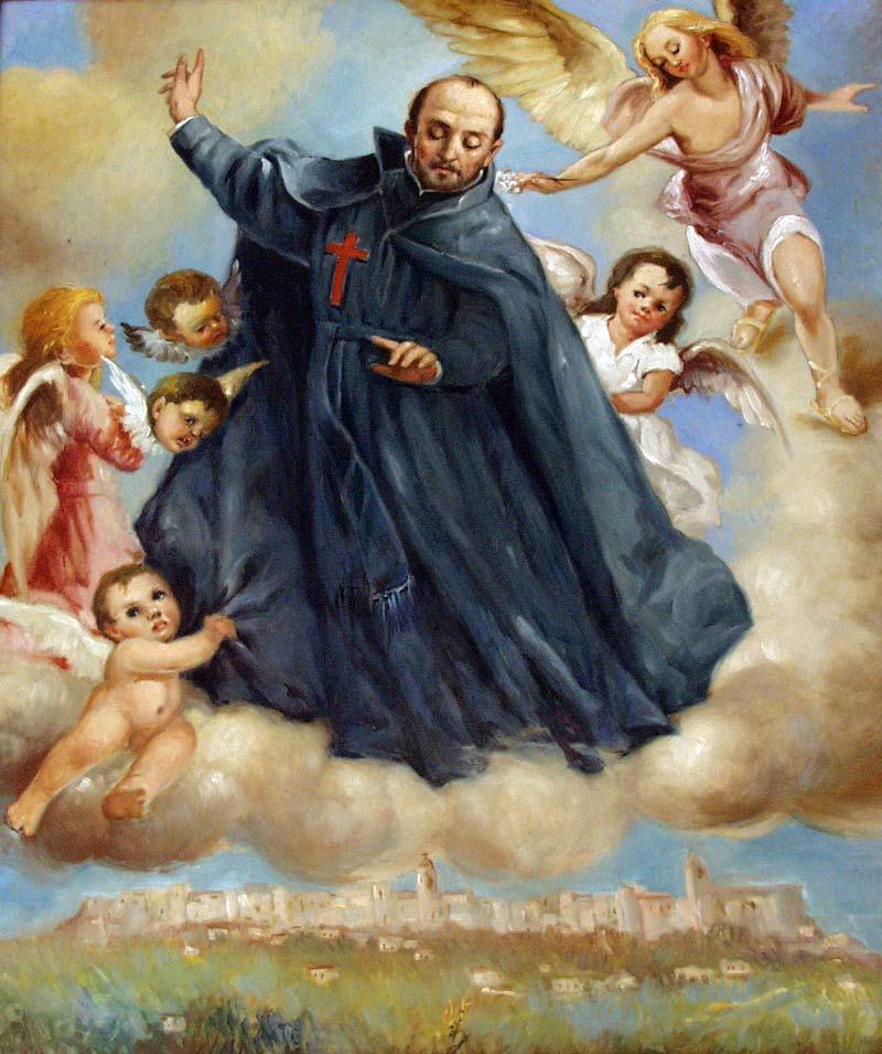 St. Camillus (1550-1614) patron saint of the sick - A saint of mercy