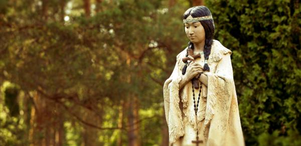 July 14th: Feast of St. Kateri Tekakwitha