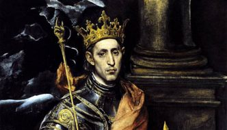 August 25th:  Feast of St. Louis of France