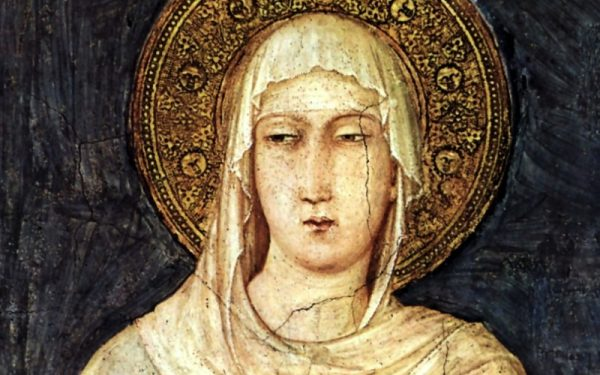 August 11th: Feast of St. Clare of Assisi