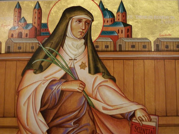 Icon of St. Edith Stein by Brother Claude Lane, OSB