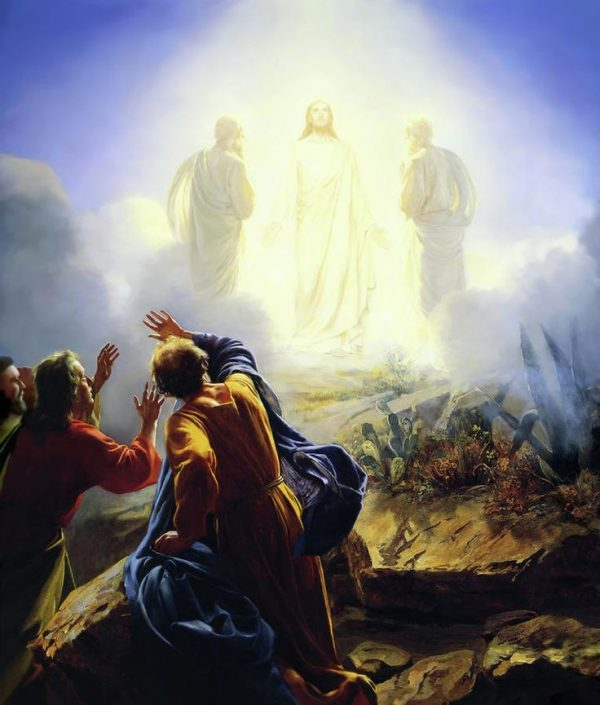 August 6th: Feast of the Transfiguration of the Lord