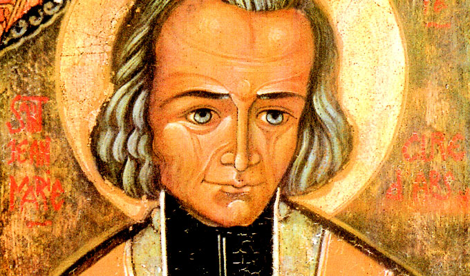 St. John Mary Vianney (1786-1859) patron saint of priests