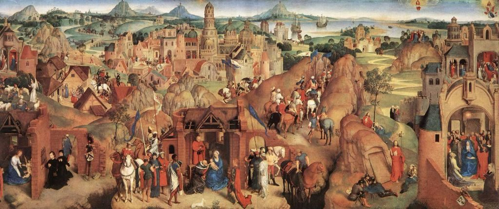 The Seven Joys of the Virgin by Hans Memling