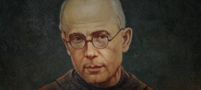 Saint Maximilian Kolbe (1894-1941) patron saint for drug addiction, prisoners, journalists, families, and pro-life movement.
