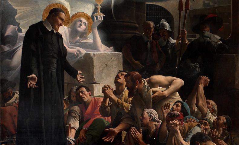 Saint Vincent de Paul by Jean-Jules-Antoine Lecomte du Nouÿ