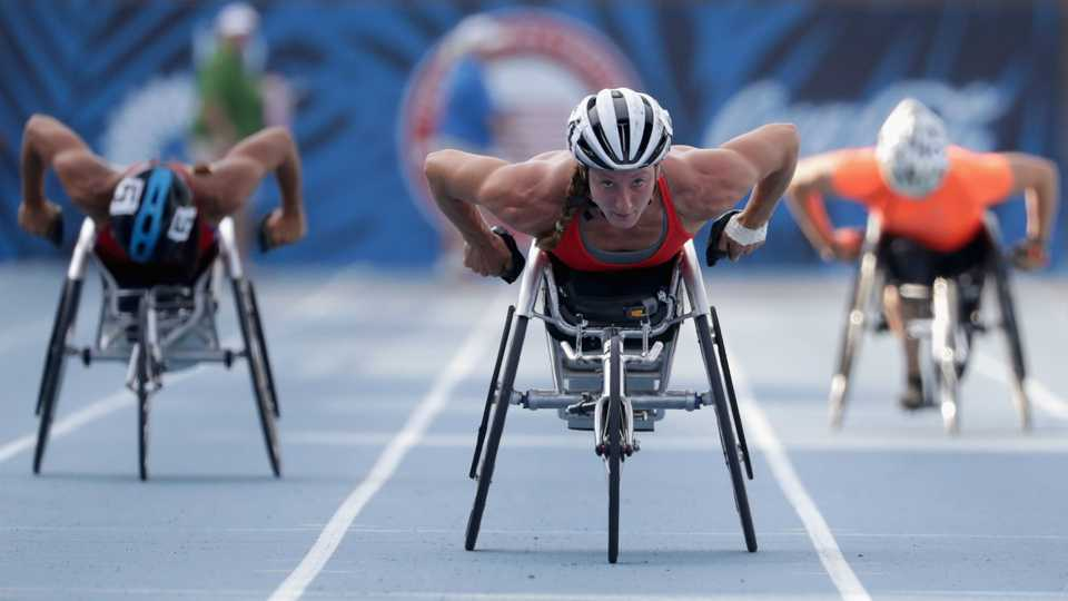 Team USA's Tatyana McFadden wins fourth gold at Rio Paralympics
