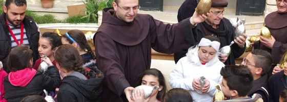 The support and the presence of the Franciscan Friars in Syria