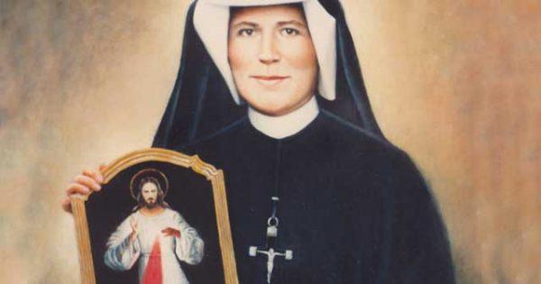 October 5th: Feast of Saint Maria Faustina Kowalska