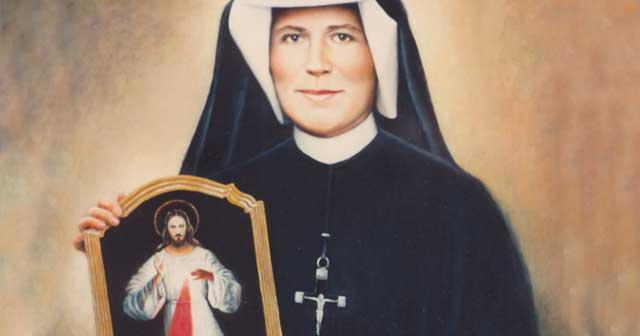 Saint Maria Faustina Kowalska (1905-1938)