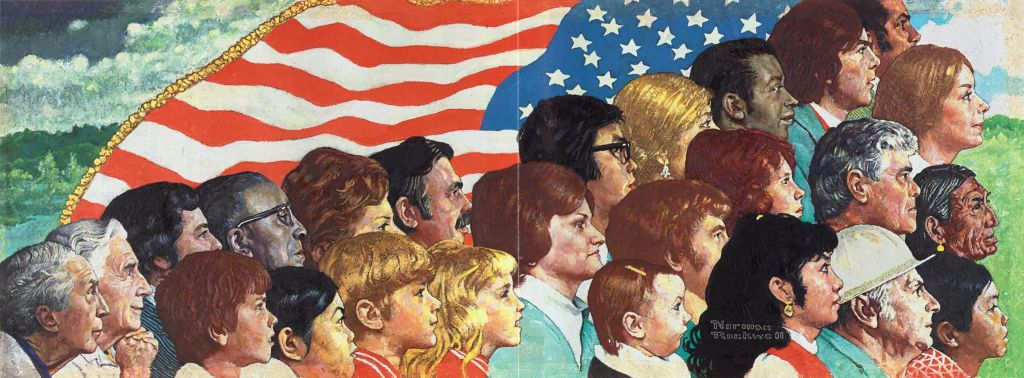 "Norman Rockwell's ""Portrait of America"""