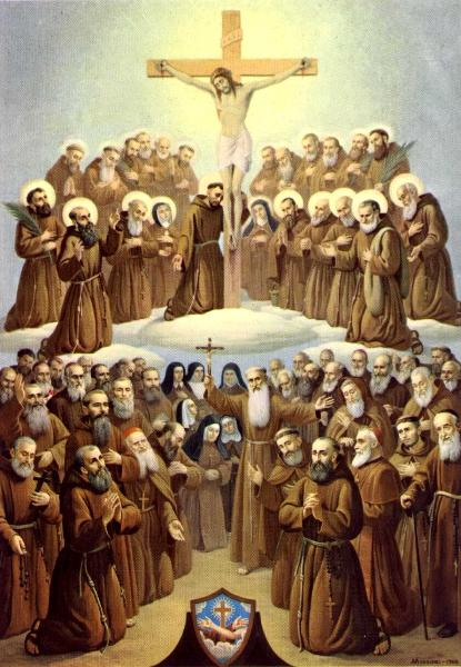 Franciscan Family of Saints