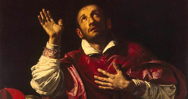 Saint Charles Borromeo (1538-1584) by Orazio Borgianni