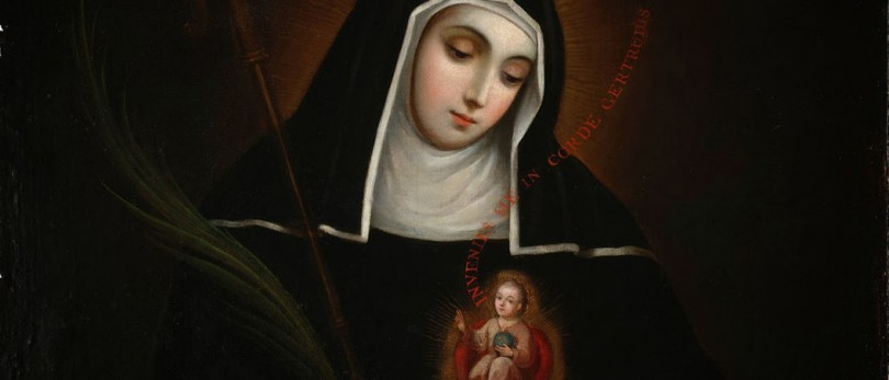 Saint Gertrude the Great, patron saint of nuns